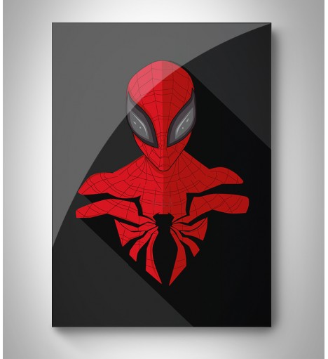 Quadro Decorativo Spider Man Minimalista