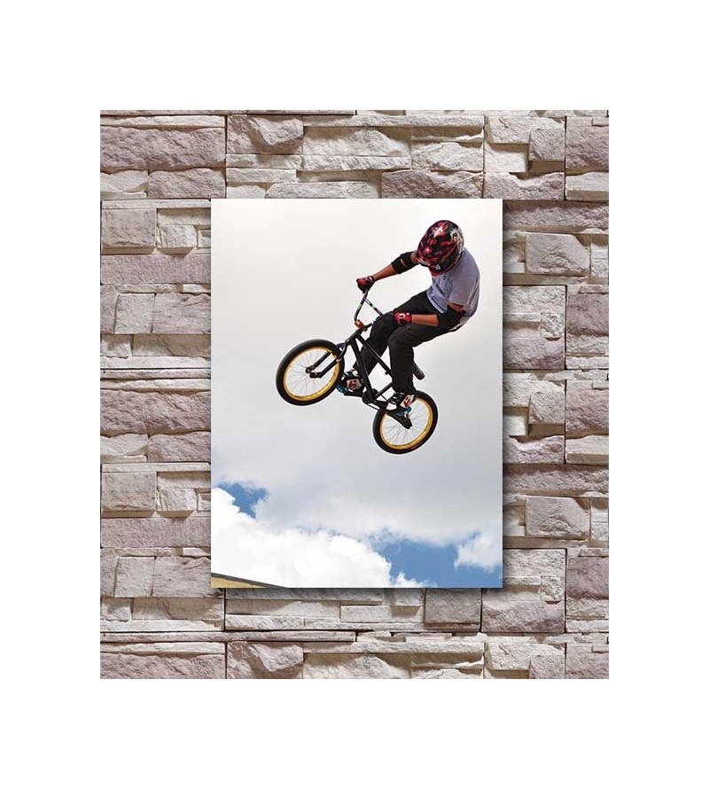 Poster decorativo Bike Radical
