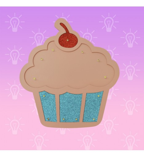 Luminoso LED Cupcake