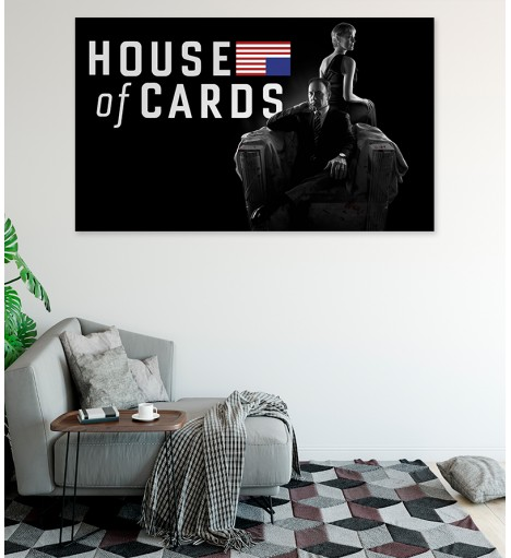 Painel Fotográfico House of Cards