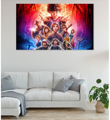 Painel Fotográfico Stranger Things