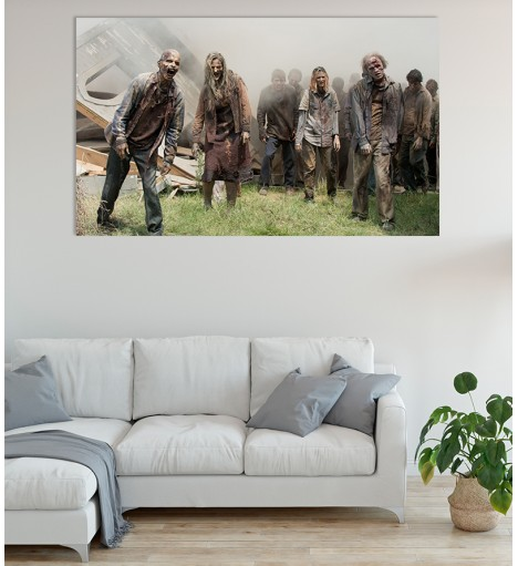 Painel Fotográfico The Walking Dead - Zumbis
