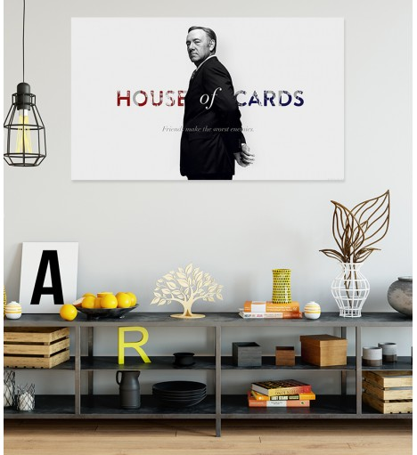 Painel Fotográfico House of Cards - Frank Underwood