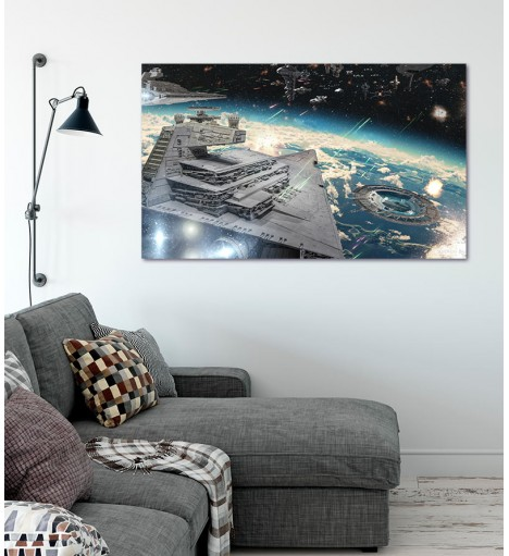 Painel Fotográfico Star Wars - Nave