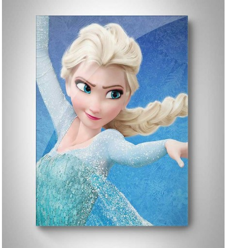 Quadro Decorativo Frozen