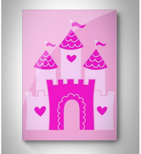 Quadro Decorativo Castelo Princesa