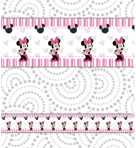 Border Minnie Rosa